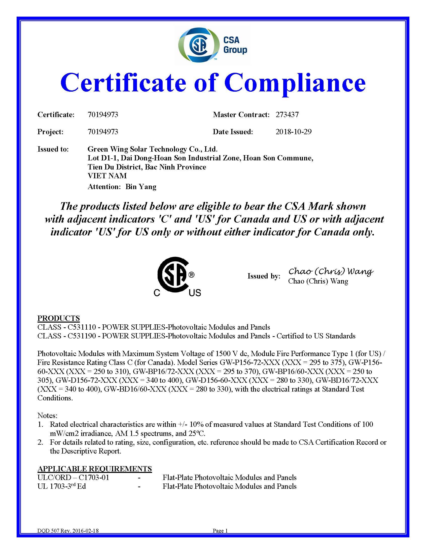 CSA Certificate_页面_1